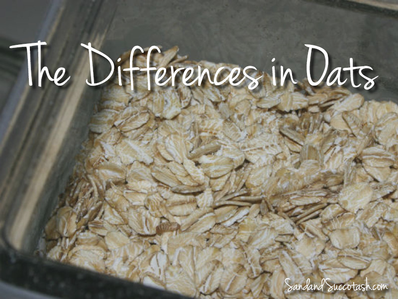 Sand and Succotash | The Difference in Oats